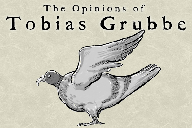 The Opinions of Tobias Grubbe animated news and political cartoon - 28th February 2011 © Michael Cross and Matthew Buck Hack Cartoons