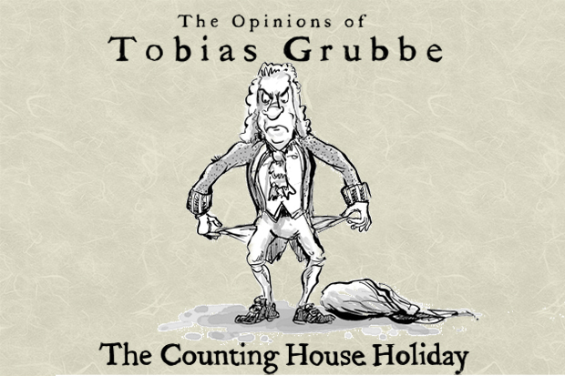 Tobias Grubbe is away : 29th August 1711