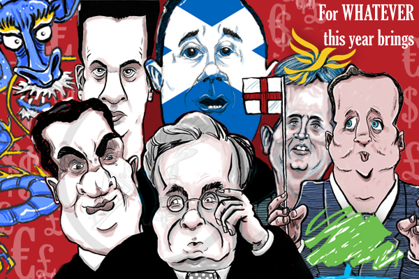 Cartoon: UK New Year-2012