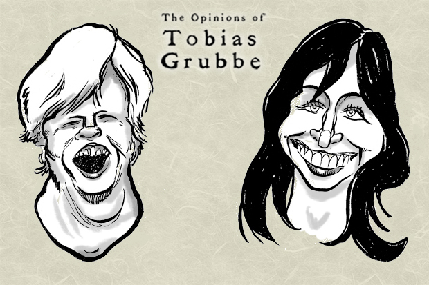 Tobias Grubbe animated cartoon episode 96 © Michael Cross and Matthew Buck Hack cartoons
