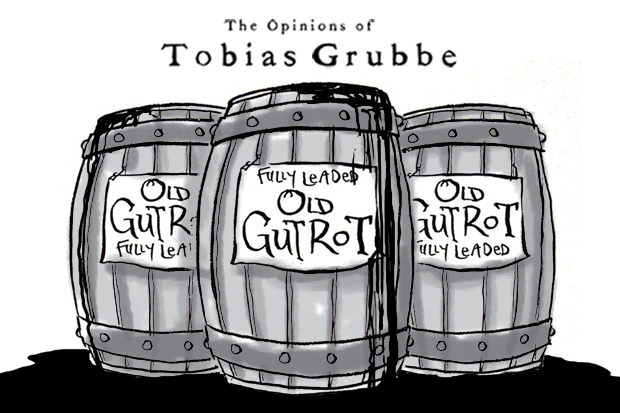Cartoon: The Opinions of Tobias Grubbe episode 97 26th March 2012 © Michael Cross and Matthew Buck Hack Cartoons