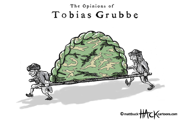 Cartoon_Pasty_tax_and_the_politics-of-food © Matthew Buck hack cartoons for tobiasgrubbe.com