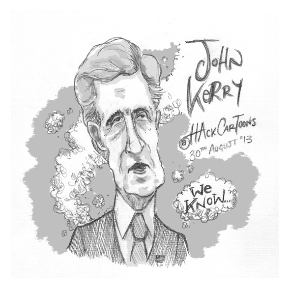Cartoon_John_Kerry_©Matthew_Buck_Hack_Cartoons