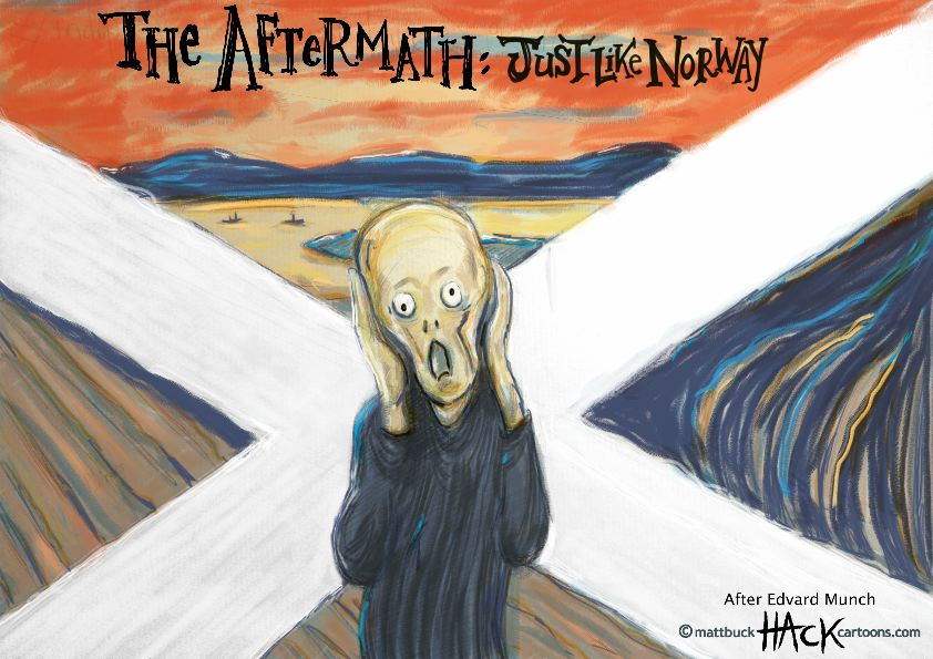 Cartoon_Scotland_Independence_Referendum_The_Scream_18_09_14_©_Matthew_Buck_Hack_cartoons