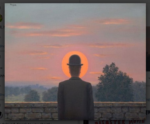 Surrealism rules K-O - Réne Magritte at Matt Buck Hack Cartoons
