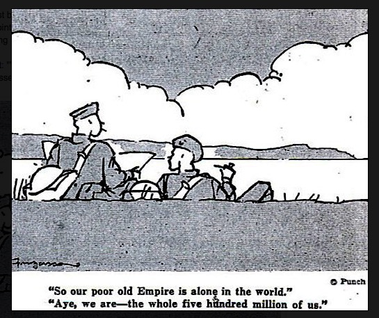 Cartoon_Fougasse on World War Two via Matthew Buck Hack Cartoons