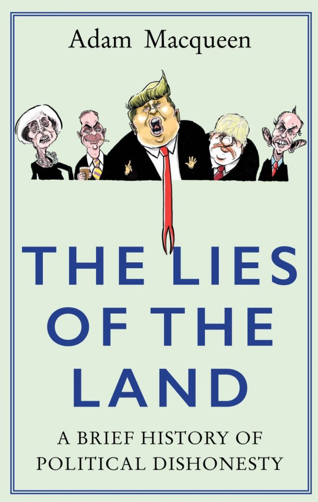 Book_cover_The_Lies_Of_The_Land_By_Matthew_Buck_at_HACK_cartoons